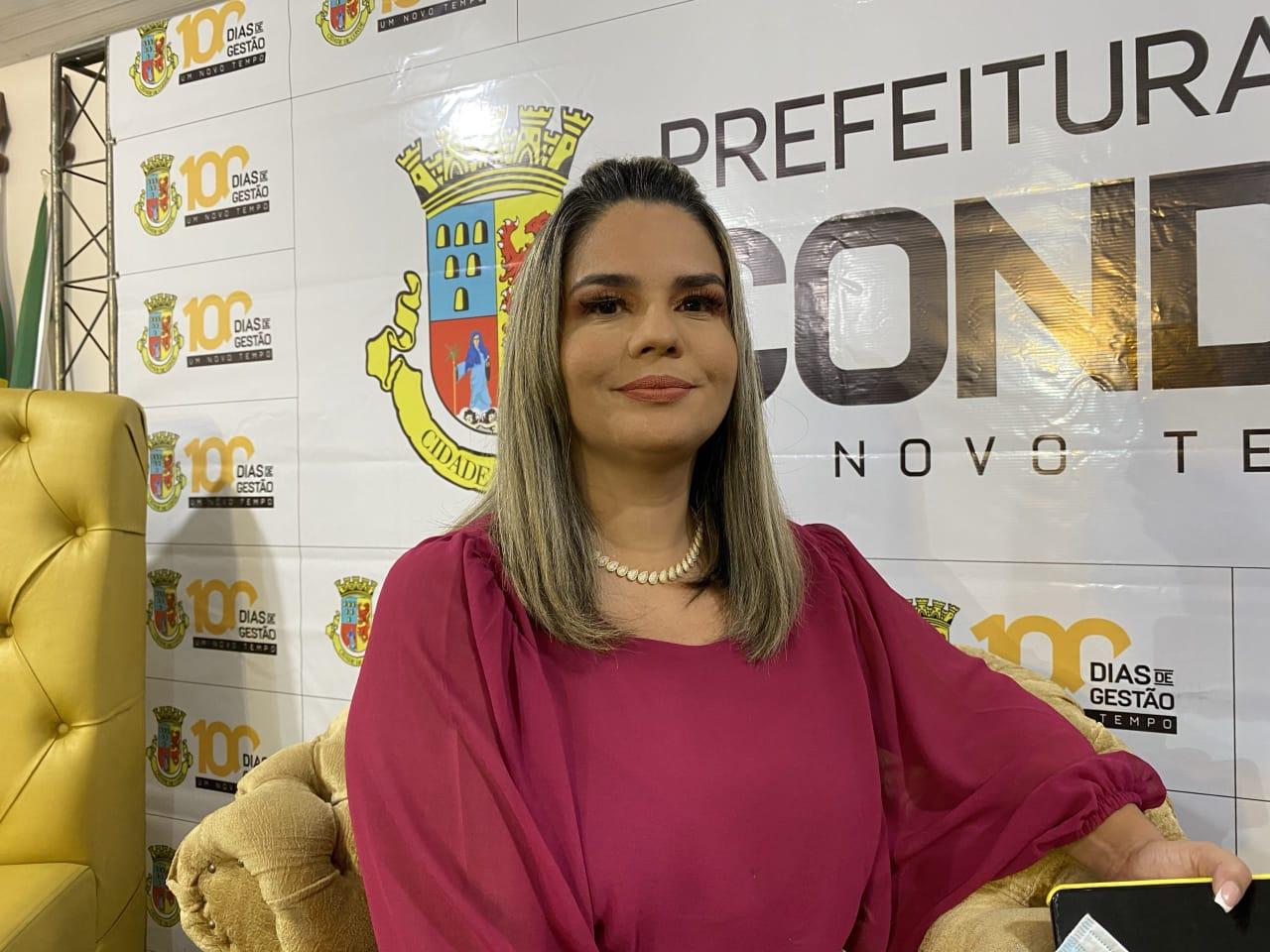 WhatsApp Image 2021 04 17 at 20.40.09 - Karla Pimentel é a primeira prefeita da Paraíba a pagar parcela antecipada do 13º salário em Conde