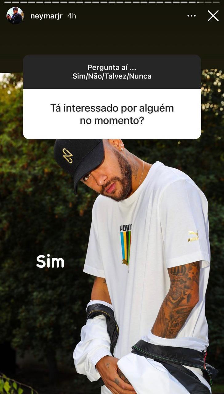 """WhatsApp Image 2021 04 19 at 15.49.33 - APAIXONADO?! Neymar revela estar """"interessado em alguém"""""""