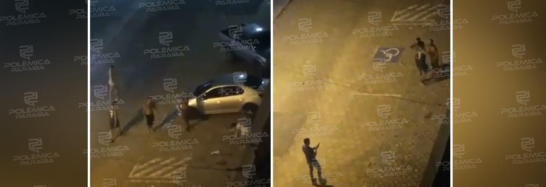 WhatsApp Image 2021 04 26 at 10.40.54 - Vídeos flagram briga seguida de disparos nesta madrugada na orla de João Pessoa - ASSISTA