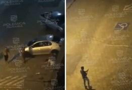 Vídeos flagram briga seguida de disparos nesta madrugada na orla de João Pessoa – ASSISTA