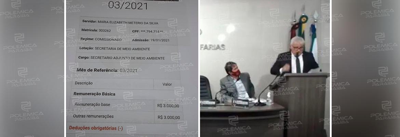 WhatsApp Image 2021 04 28 at 09.23.12 - Tia da funcionária fantasma de Alhandra diz que o dinheiro vai para o genro do prefeito e que a doméstica é vítima da situação - OUÇA