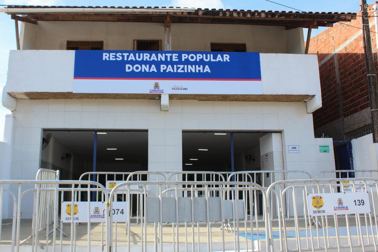 WhatsApp Image 2021 04 30 at 08.34.09 - Prefeitura de Cabedelo inaugura 1º Restaurante Popular da cidade nesta sexta-feira