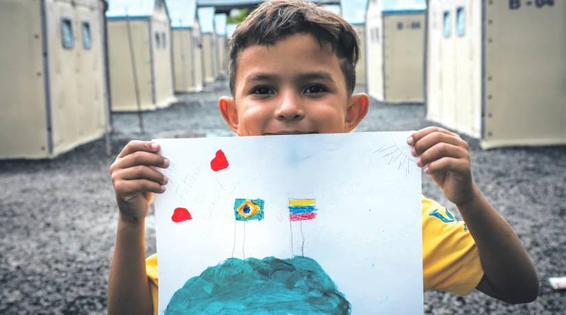 WhatsApp Image 2021 04 30 at 16.15.38 - Mi Casa, Su Casa: escolas de João Pessoa e Campina Grande participam de projeto em prol de refugiados venezuelanos
