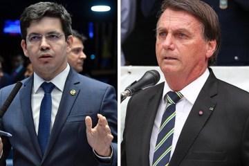 """Bolsonaro xinga e fala em """"ir para porrada"""" com senador Randolfe durante conversa divulgada por Kajuru"""