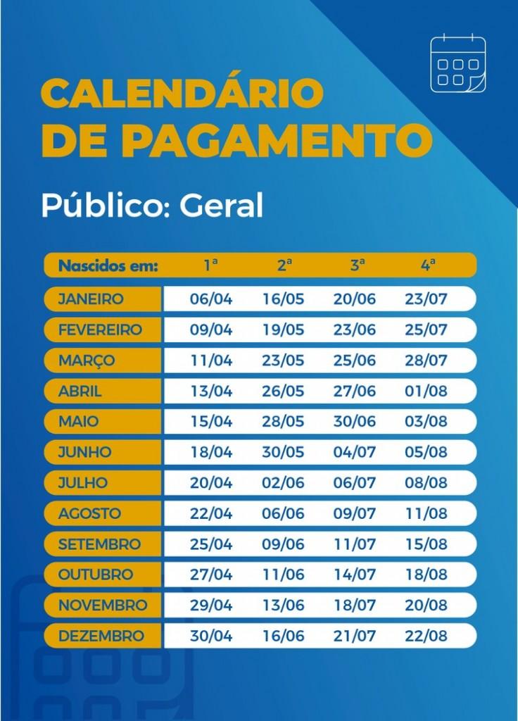 calendario auxilio parcelas consolidado geral - Caixa paga hoje auxílio emergencial a nascidos em setembro; veja calendário
