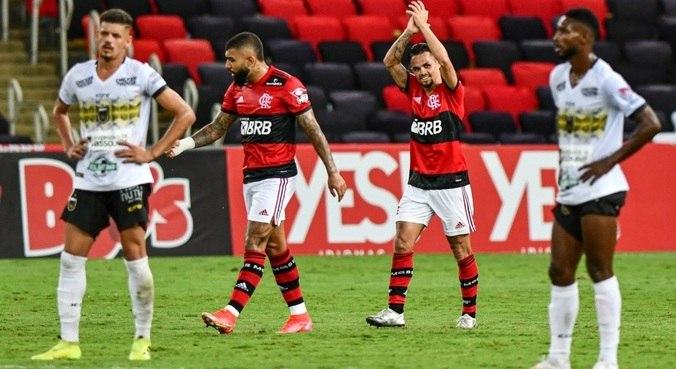 campeonato carioca flamengo volta redonda 24042021203217576 - Flamengo vence o Volta Redonda e é campeão da Taça Guanabara