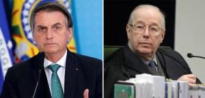 celso de mello e bolsonaro 300x144 - Bolsonaro é despreparado, insensato e repulsivo por não decretar lockdown, diz ex-ministro Celso de Mello