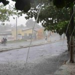 chuva cajazeiras 01 05 2018 1024x604 1 - Mais de 115 municípios da Paraíba recebem alerta de perigo potencial de chuvas intensas