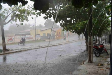 Mais de 115 municípios da Paraíba recebem alerta de perigo potencial de chuvas intensas