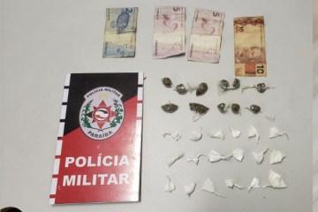 festa cg drogas - Polícia Militar encerra nova festa clandestina e apreende adolescente de 14 anos com drogas
