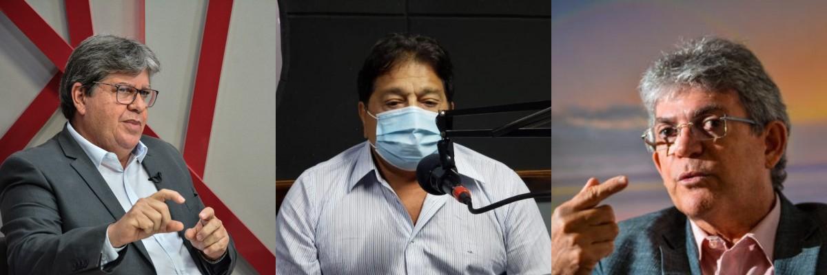 """final 1618678329 - Deputado Ricardo Marcelo diz que João Azevêdo é """"uma pessoa totalmente diferente de Ricardo Coutinho"""" - VEJA VÍDEO"""