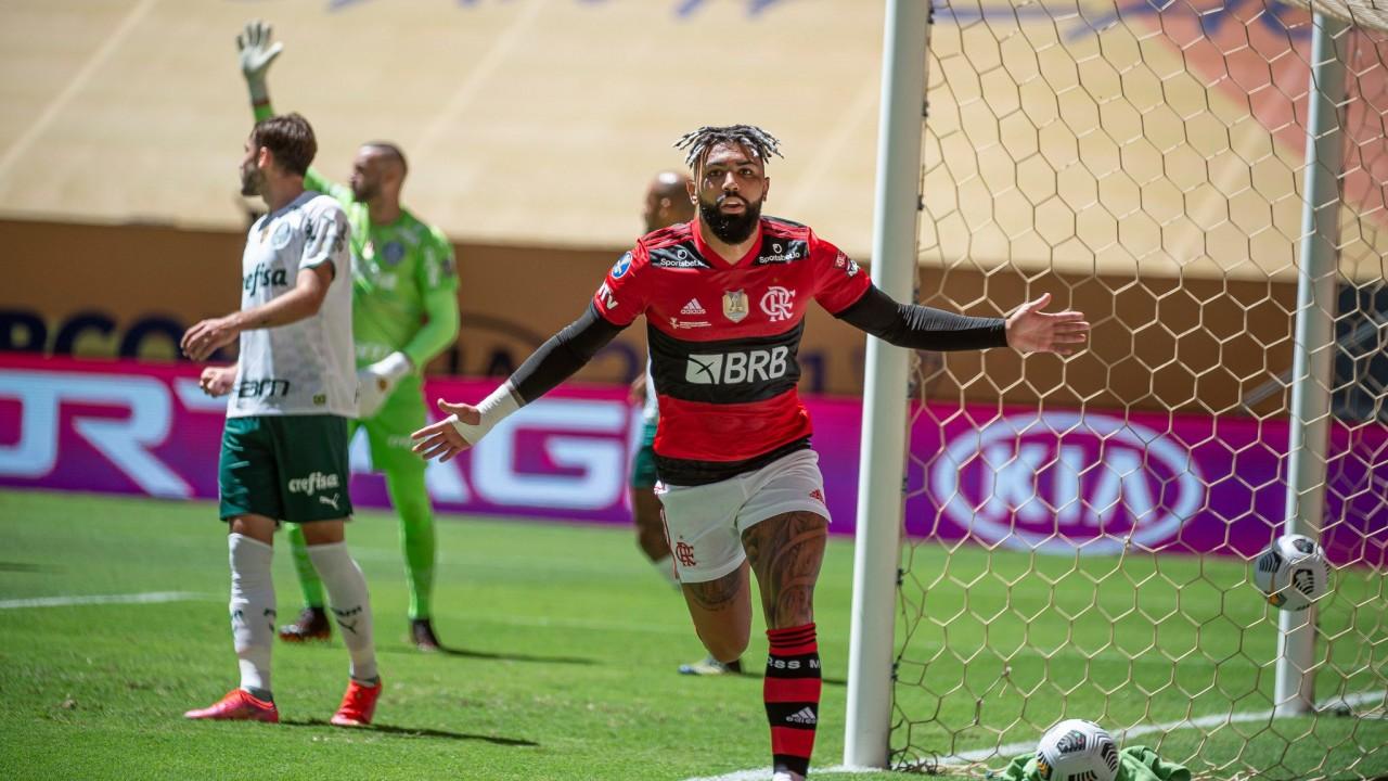 gabigol supercopa - Nos pênaltis, Flamengo bate Palmeiras e conquista o bicampeonato da Supercopa do Brasil