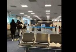 CONFUSÃO: aeroporto vira palco de briga generalizada – VEJA VÍDEO
