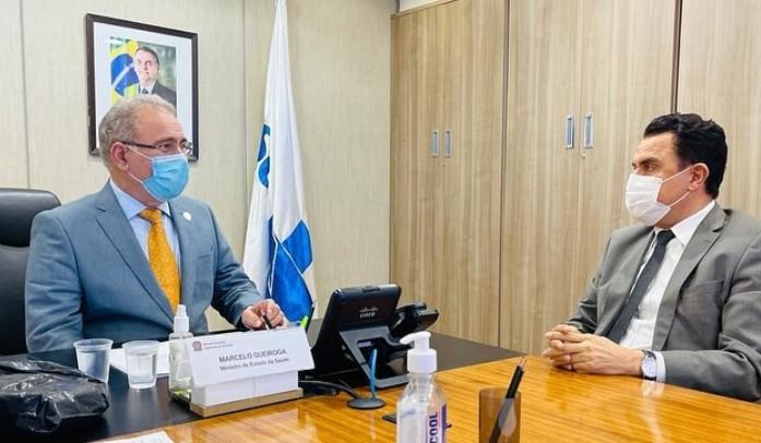imagem 2021 04 28 203813 - Em reunião com Queiroga, Wilson Santiago reforça pedido para instalação de um LACEN na cidade de Sousa