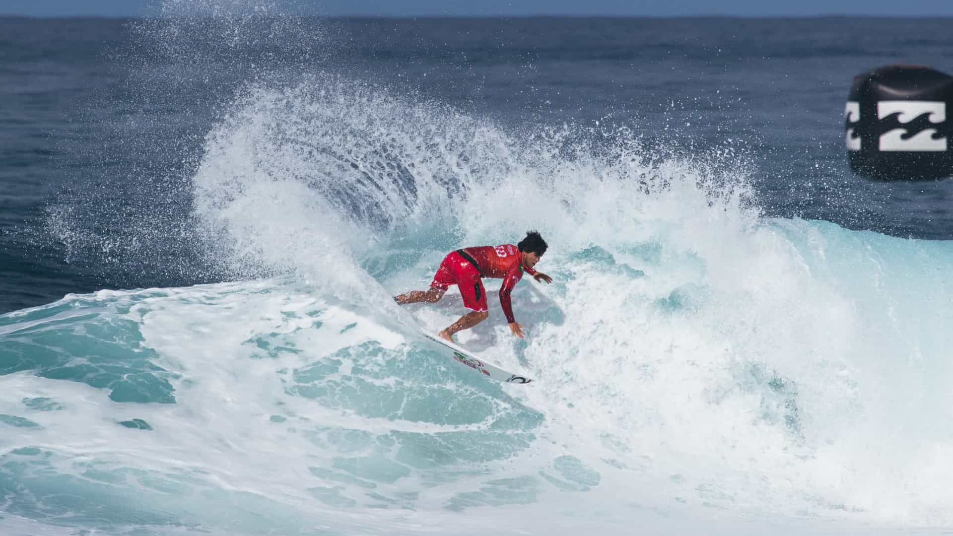 naom 5fd204033e6ab 1 - Brasil segue com 3 surfistas nas quartas em etapa na Austrália; Italo está fora