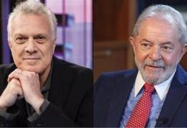 """Pedro Bial diz que só entrevista Lula ao vivo se ex-presidente usar detector de mentiras: """"Teria que ter um poligrafo acompanhando""""– VEJA VÍDEO"""