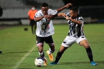 Eliminado, Botafogo-PB vence Santa Cruz e encerra participação na Copa do Nordeste