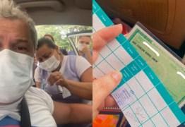 """Após dizer que recusaria """"vacina chinesa"""", Sikêra Jr. recebe a primeira dose do imunizante – VEJA VÍDEO"""