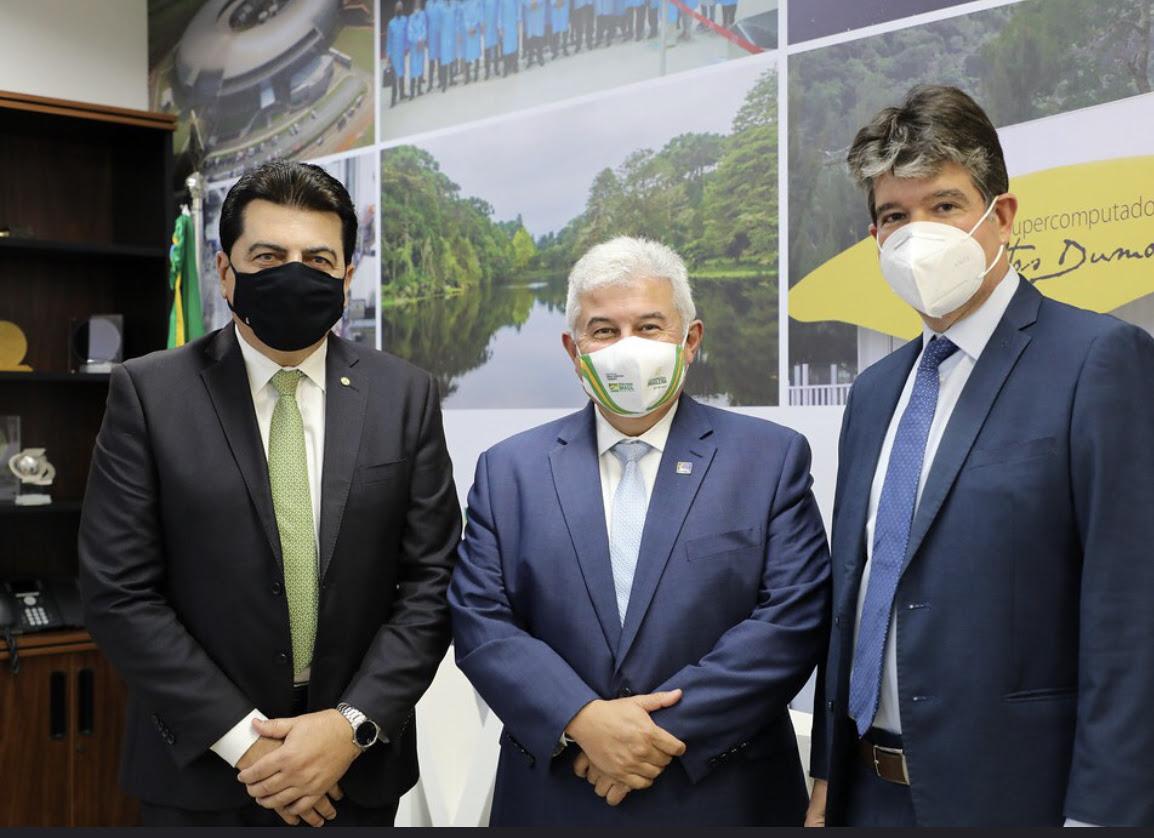 unnamed 11 - Ruy tem audiência com Ministro Marcos Pontes e assegura recursos para obras em Pedras de Fogo