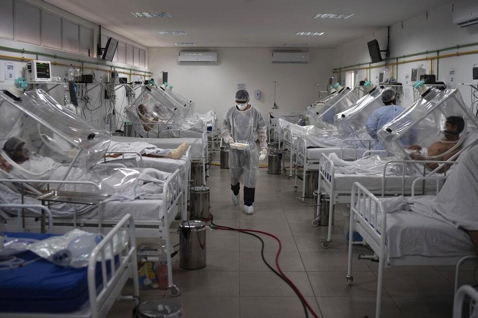 uti 1 - MAIOR OCUPAÇÃO DA PB: 72% dos leitos de UTI em Campina Grande estão ocupados; Hospital das Clínicas está com mais de 90%