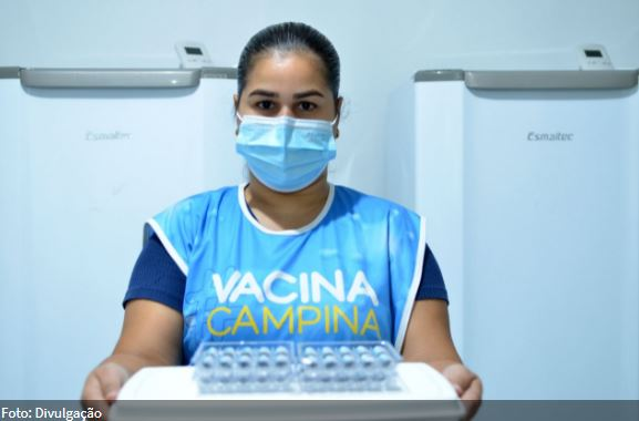 vacinacao - PMCG retoma nesta sexta-feira (23), vacinação contra Covid-19 e anuncia vacinação de pessoas com HIV/Aids