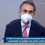 118494188    carlosmurilo - CPI da Covid: executivo da Pfizer confirma que governo Bolsonaro ignorou ofertas de 70 milhões de doses de vacinas