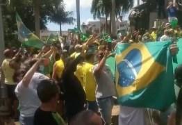 """""""SEGUINDO OS PASSOS DO PRESIDENTE"""": apoiadores de Bolsonaro causam aglomeração durante manifestação em João pessoa -VEJA VÍDEO"""