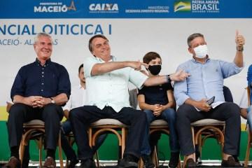 """""""Voto impresso tem mãe e pai: Bia Kicis e Arthur Lira"""", diz Bolsonaro elogiando a proposta; STF já declarou como inconstitucional"""