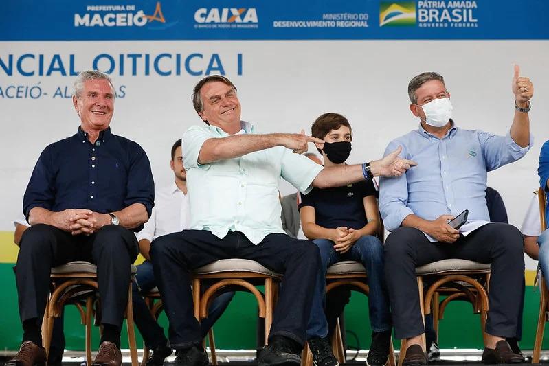 """51177164944 f68e94b84a c - """"Voto impresso tem mãe e pai: Bia Kicis e Arthur Lira"""", diz Bolsonaro elogiando a proposta; STF já declarou como inconstitucional"""