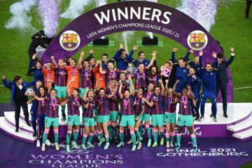 60a195ee32f91 - Barcelona goleia o Chelsea e conquista sua 1ª Champions League feminina