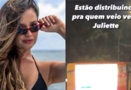 Caminhão do Pippo's: fãs que esperam Juliette na porta de hotel recebem o famoso salgadinho citado pela paraibana – VEJA VÍDEO