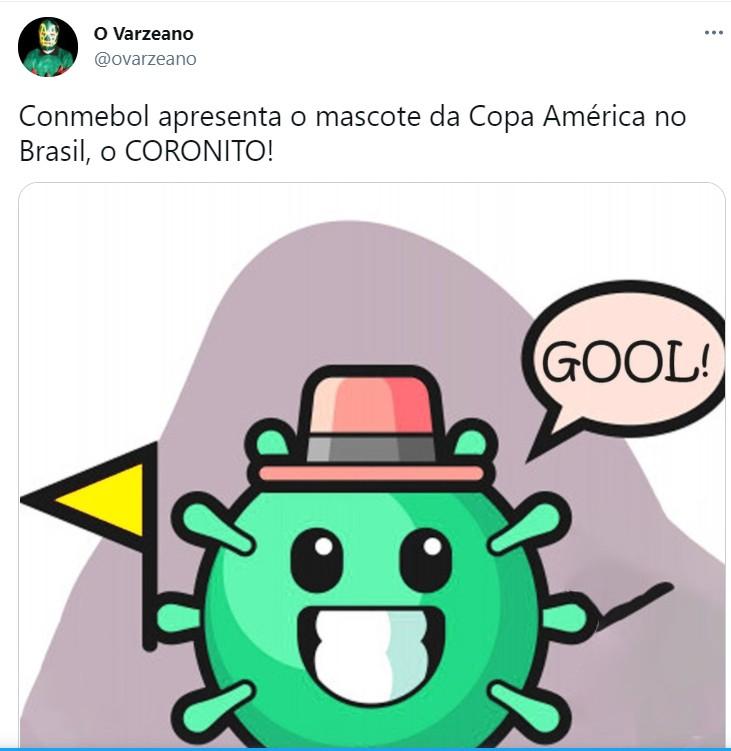 """Capturar 147 - """"Cepa América"""", """"Cloroquito"""" e outros: Copa América no Brasil rende memes na web; veja"""