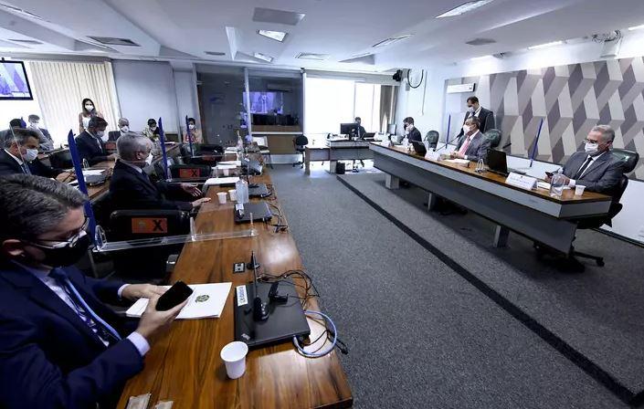 Capturar.JPGjuj - Senadores decidem antecipar depoimento de Queiroga à CPI da Covid
