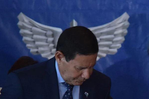 """Capturar.JPGtg  - """"Tudo bandido"""", afirma Mourão sobre mortos em operação no Jacarezinho"""