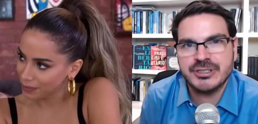 Capturar - Comentarista Rodrigo Constantino move processo contra Anitta após polêmica