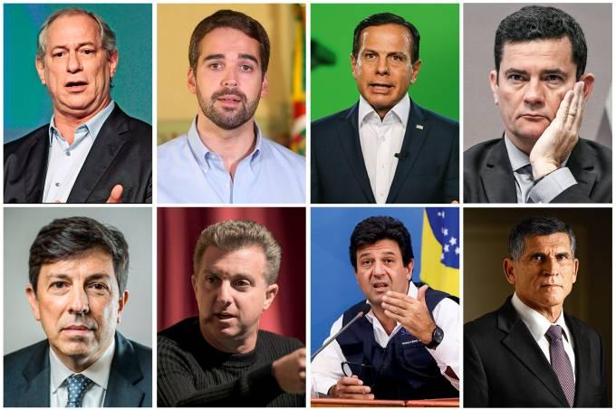 Centro Presidenciaveis - Candidaturas para 2022: Chapa de centro enfrenta dificuldades até para lançar plataforma política