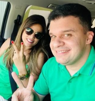 Dr Augusto Valadares e Andrezza Guimaraes Ouro Velho - É O AMOR! Prefeitos paraibanos esbanjam amor pelas esposas, conheça os casais considerados mais bonitos