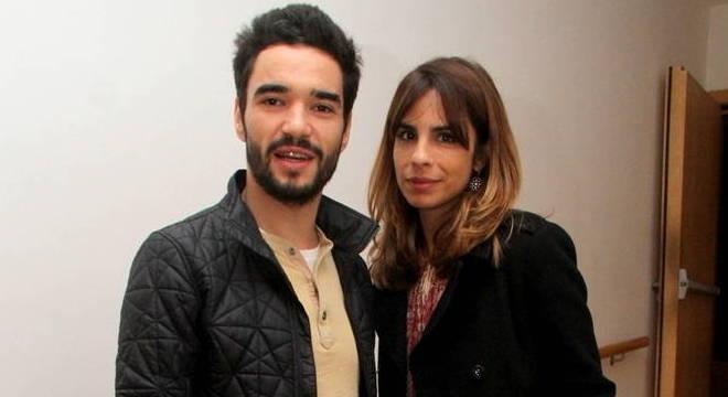 Maria Ribeiro e Caio Blat - Atriz Maria Ribeiro diz que se separou de Caio Blat porque ele votou no Aécio, em 2014