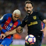 """Neymar Juanfran 1024x683 1 - Jogador espanhol diz que Neymar """"era insuportável"""" dentro de campo"""