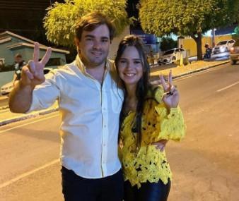 Samuel Lacerda e Ingrid Dantas Conceicao - É O AMOR! Prefeitos paraibanos esbanjam amor pelas esposas, conheça os casais considerados mais bonitos