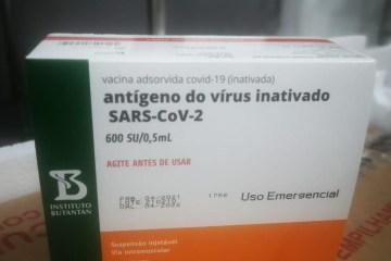 Paraíba recebe mais 16.900 doses da Coronavac neste sábado (08)