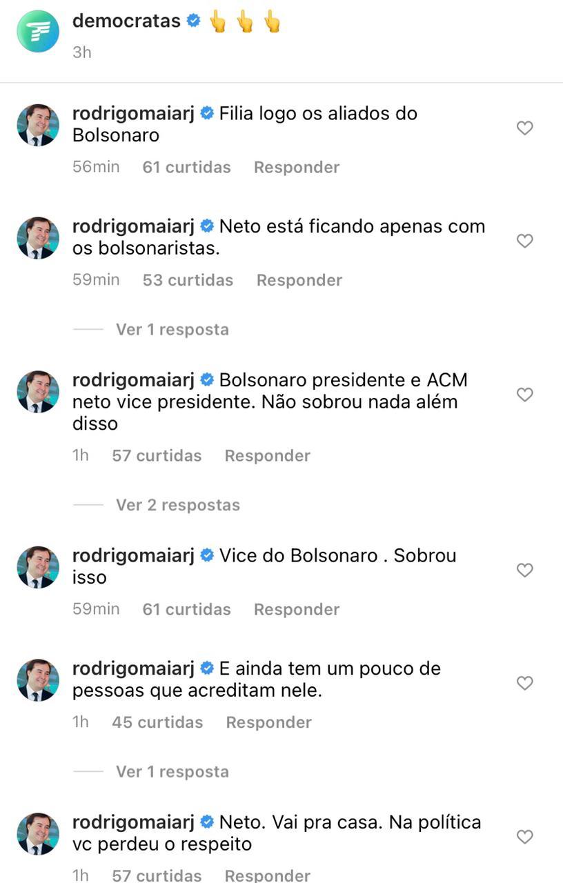 """WhatsApp Image 2021 05 14 at 17.35.05 - Maia xinga ACM Neto nas redes sociais: """"Oportunista, baixinho sem caráter"""""""