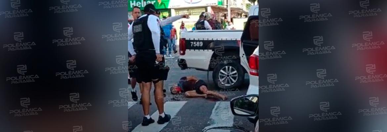WhatsApp Image 2021 05 18 at 17.11.48 - TROCA DE TIROS! Homem tenta sequestrar mulher em João Pessoa, mas é atingido pela PM e morre - VEJAVÍDEO