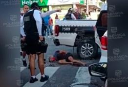 TROCA DE TIROS! Homem tenta sequestrar mulher em João Pessoa, mas é atingido pela PM e morre – VEJAVÍDEO