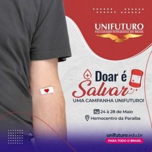 """WhatsApp Image 2021 05 23 at 11.11.30 300x300 - Campanha """"Doar é Salvar"""" incentiva doação de sangue em mês de homenagens aos assistentes sociais"""