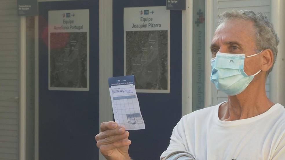 alexandre 3 - Rio começa a aplicar a vacina da Pfizer; 'Dá muita tranquilidade', diz primeiro imunizado