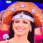 chappeu de cangaceiro - No Domingão do Faustão, Juliette usa chapéu de cangaceiro produzido em ateliê paraibano