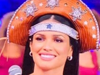 No Domingão do Faustão, Juliette usa chapéu de cangaceiro produzido em ateliê paraibano