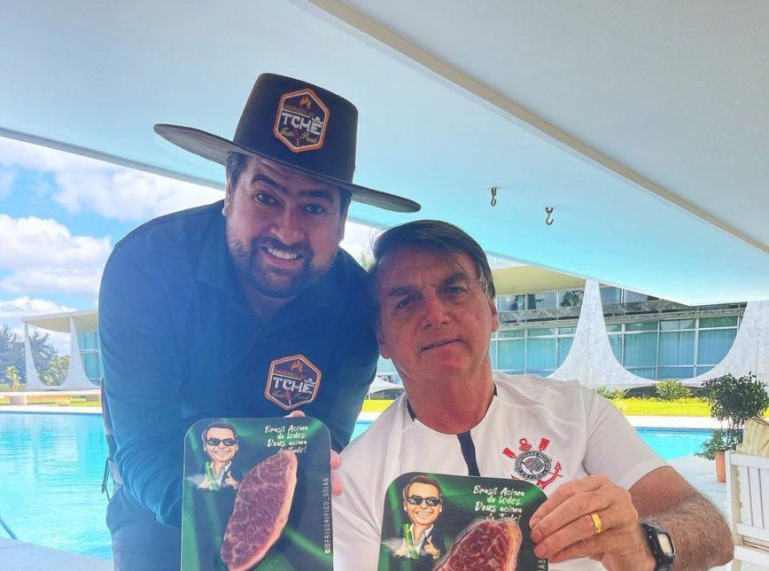 churrasco bolsonaro 868x644 1 - UM LUXO! Churrasco de Bolsonaro tem picanha de R$ 1.799,99 o quilo