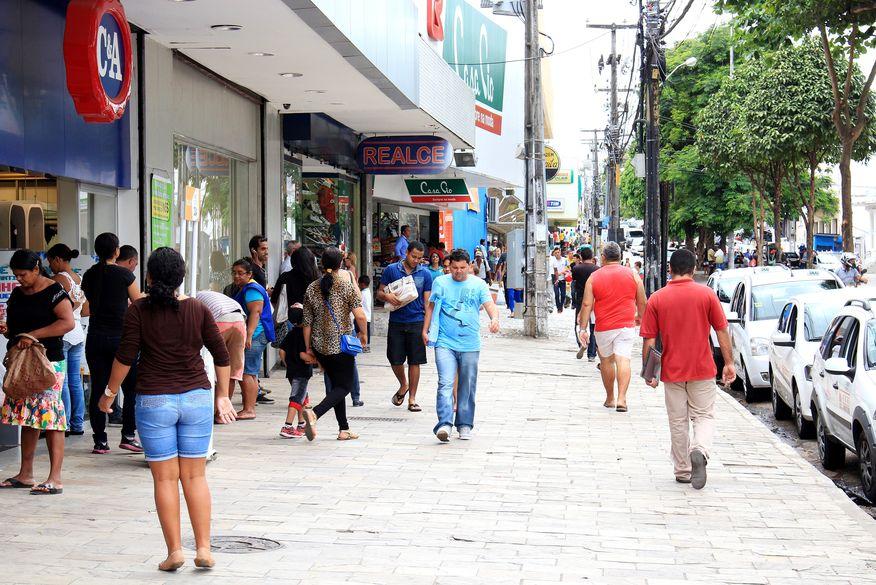 comercio de jp foto walla santos - Confira o que abre e fecha em João Pessoa, neste sábado, feriado do Dia do Trabalhador